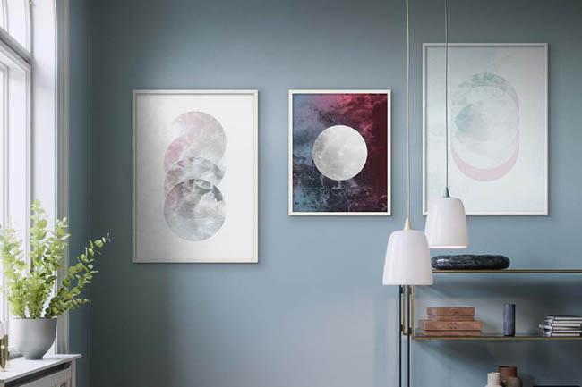 Collagen Wandbilder: Coole Kunst für die Wand