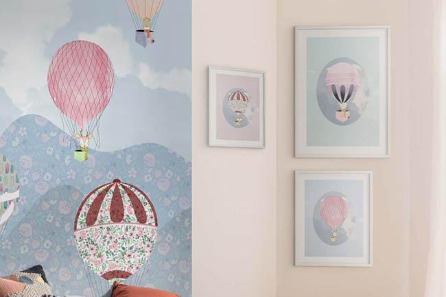 Stylische Design Wandbilder für coole Kids