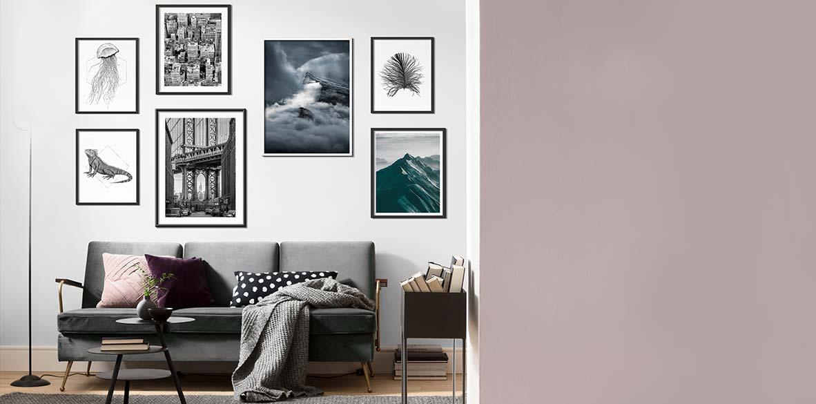 Faszinierende Landschaften als Art Poster für die Wand