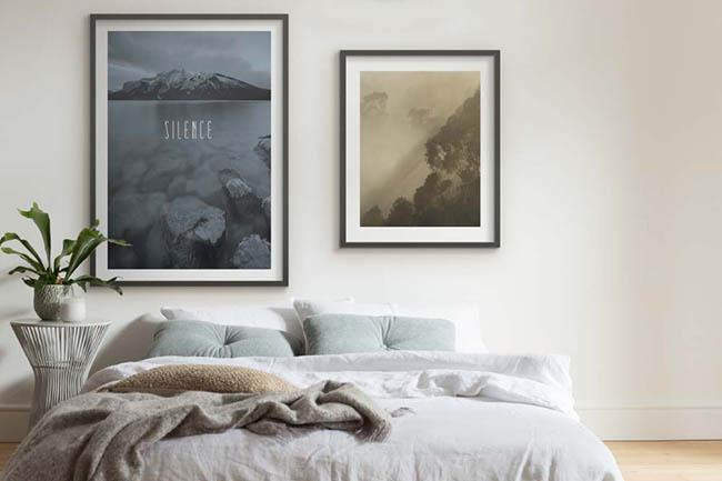 Aussichten & Weitsichten genießen mit Berge Wandbilder