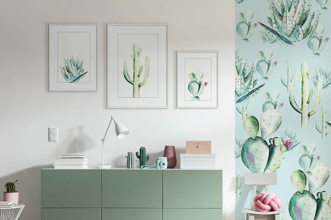 Pflanzen Wandbilder sorgen für Natur pur im Zuhause