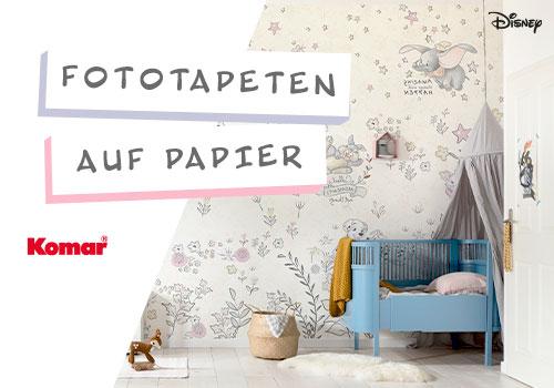Komar Fototapeten auf Papier – Ideal für jedes Kinderzimmer