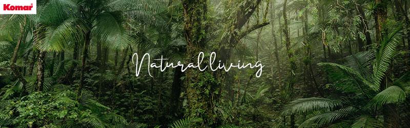 Natürliches Wohnen in tropischen Landschaften