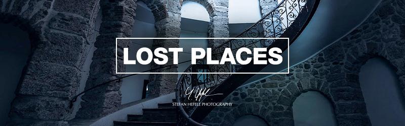 Lost Places Fototapeten von Stefan Hefele