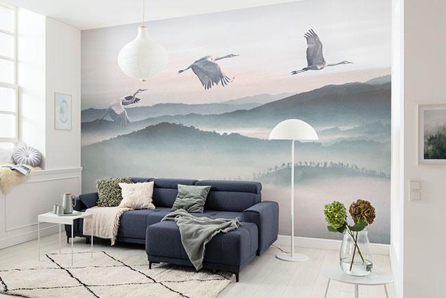 Ein Wandtattoo für jedes Wohnzimmer