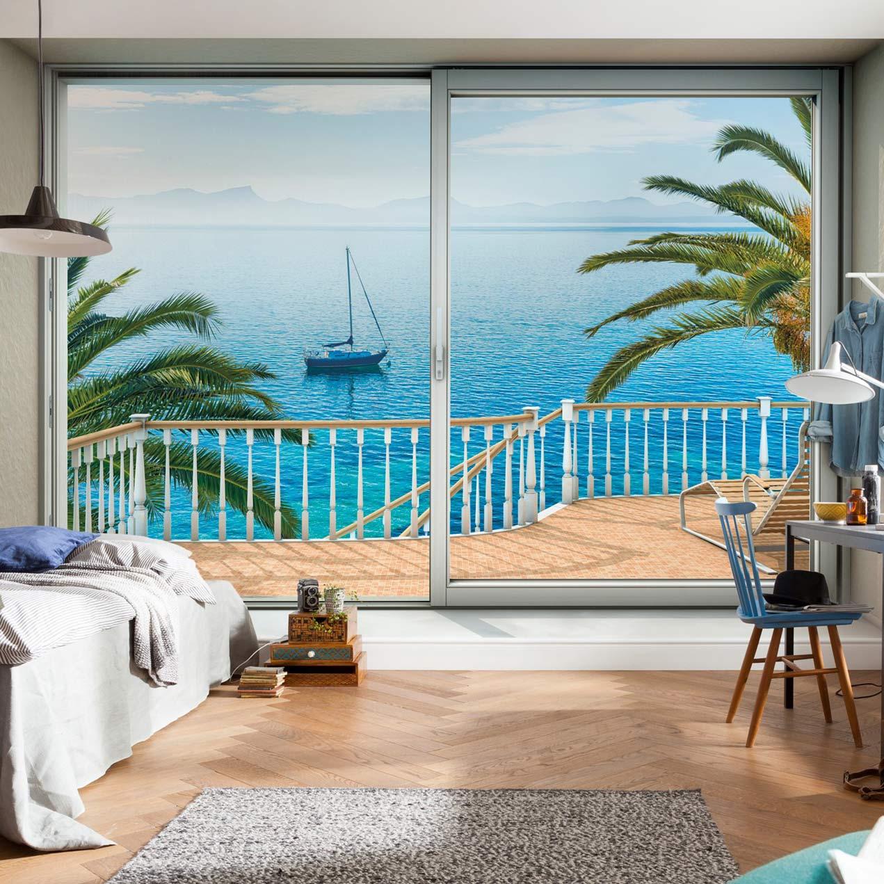 Ton In Ton Einrichtung Grau Weiss Interieur | Trendfarbe Blau