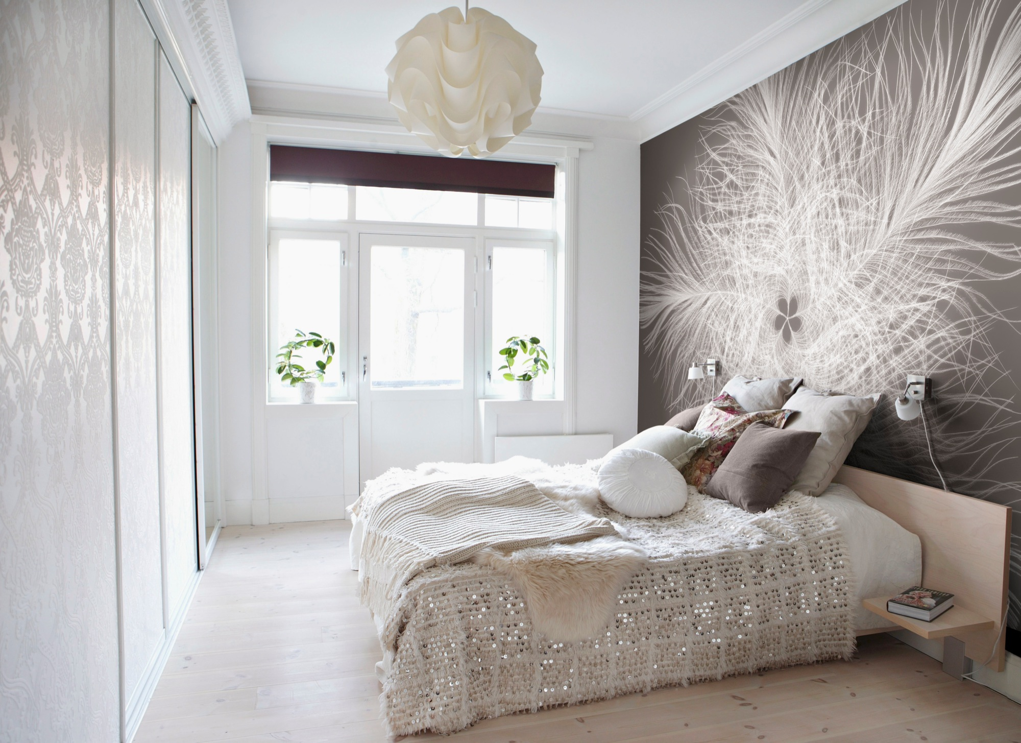 blog romantische fototapeten mit floralen motiven. Black Bedroom Furniture Sets. Home Design Ideas