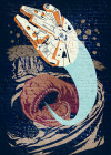 Star Wars Classic Concrete Asteroid Worm