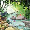 Jungle book swimming with Baloo