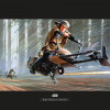 Star Wars Classic RMQ Endor Speeder