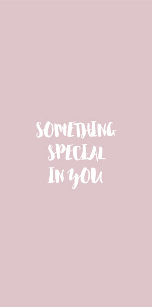 Something special in you